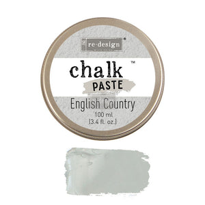 re-design chalk paste for raised stencils and embossing available from approved online retailer and official UK stockist English Country