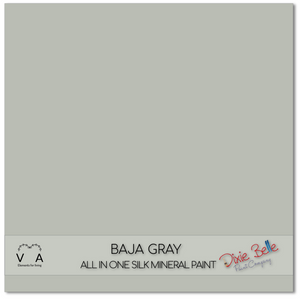 Dixie Belle Silk All In One Mineral Paint buy online from approved premier retailer and stockist Baja Grey Grey