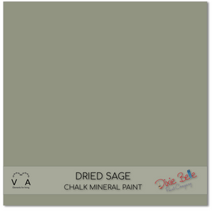 Dried Sage Dixie Belle Chalk Mineral paint available to buy online from official UK online retailer and approved stockist Vintage Attic Sevenoaks, Kent