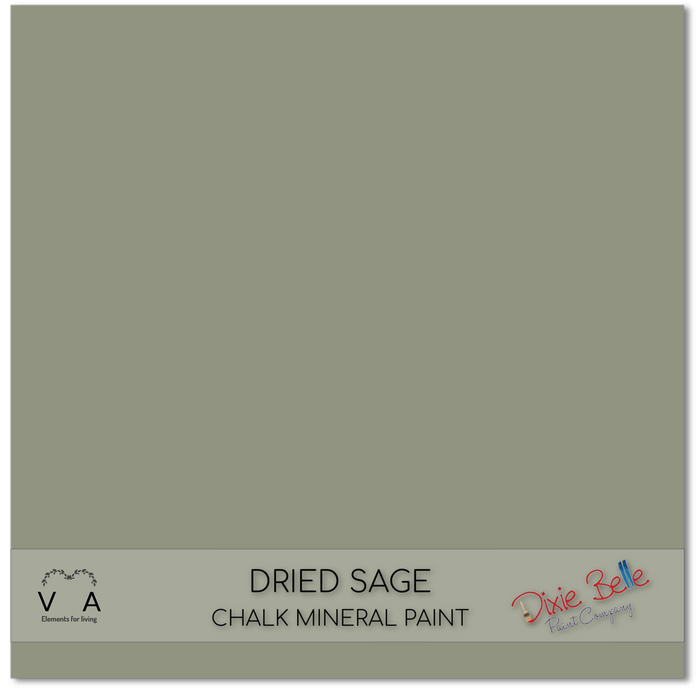 Chalk Mineral Paint | Dixie Belle Paint | DRIED SAGE | Green