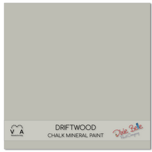 Driftwood Dixie Belle Chalk Mineral paint available to buy online from official UK online retailer and approved stockist Vintage Attic Sevenoaks, Kent