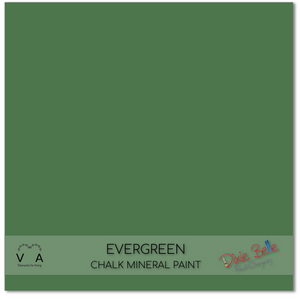 Evergreen Dixie Belle Chalk Mineral paint available to buy online from official UK online retailer and approved stockist Vintage Attic Sevenoaks, Kent
