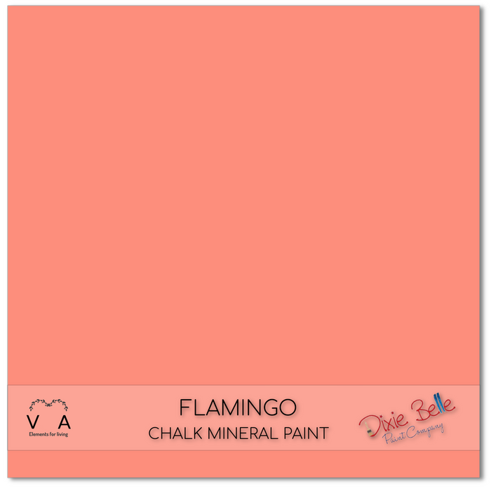 Flamingo - pink - Dixie Belle Paint Chalk Mineral Paint