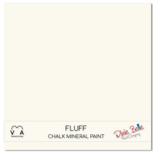 Fluff Dixie Belle Chalk Mineral paint available to buy online from official UK online retailer and approved stockist Vintage Attic Sevenoaks, Kent