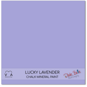 Luck Lavender Dixie Belle Chalk Mineral paint available to buy online from official UK online retailer and approved stockist Vintage Attic Sevenoaks, Kent
