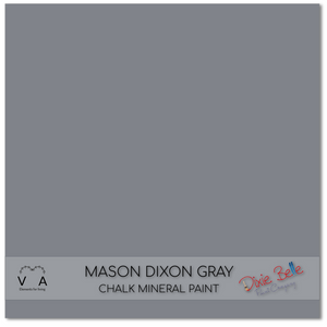 Mason Dixon Gray Grey Dixie Belle Chalk Mineral paint available to buy online from official UK online retailer and approved stockist Vintage Attic Sevenoaks, Kent