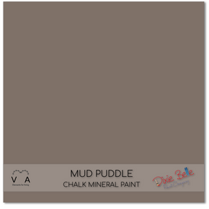 Mud Puddle brown tan beige Dixie Belle Chalk Mineral paint available to buy online from official UK online retailer and approved stockist Vintage Attic Sevenoaks, Kent