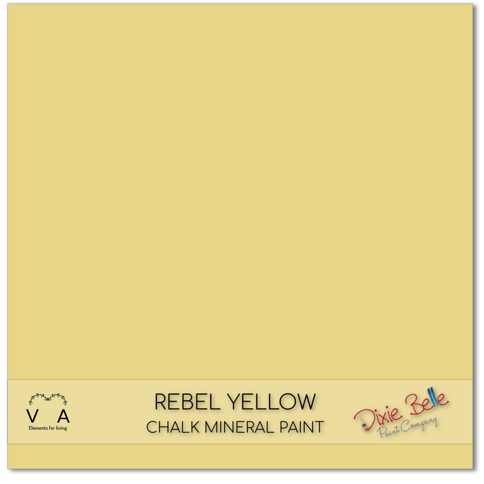 Rebel Yellow,  Dixie Belle Paint Chalk Mineral Paint
