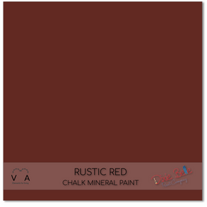Rustic red rust wine Dixie Belle Chalk Mineral paint available to buy online from official UK Premier online retailer and approved stockist Vintage Attic Sevenoaks, Kent