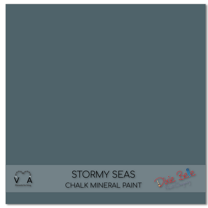 Stormy Seas - blue, grey green tones - Dixie Belle Paint Chalk Mineral Paint