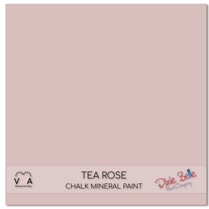 Tea rose pink damask Dixie Belle Chalk Mineral paint available to buy online from official UK Premier online retailer and approved stockist Vintage Attic Sevenoaks, Kent