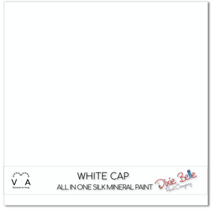 Dixie Belle silk all in one mineral paint white cap buy online approved uk retailer premier stockist white cap picket fence