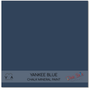 Yankee blue Dixie Belle Chalk Mineral paint available to buy online from official UK Premier online retailer and approved stockist Vintage Attic Sevenoaks, Kent