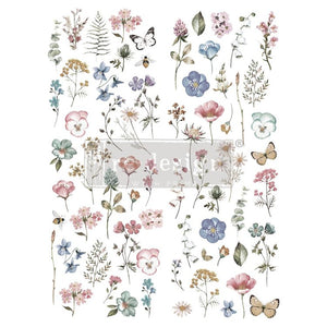 Re-design with prima transfer delicate fleur furniture deco transfers buy online from UK stockist