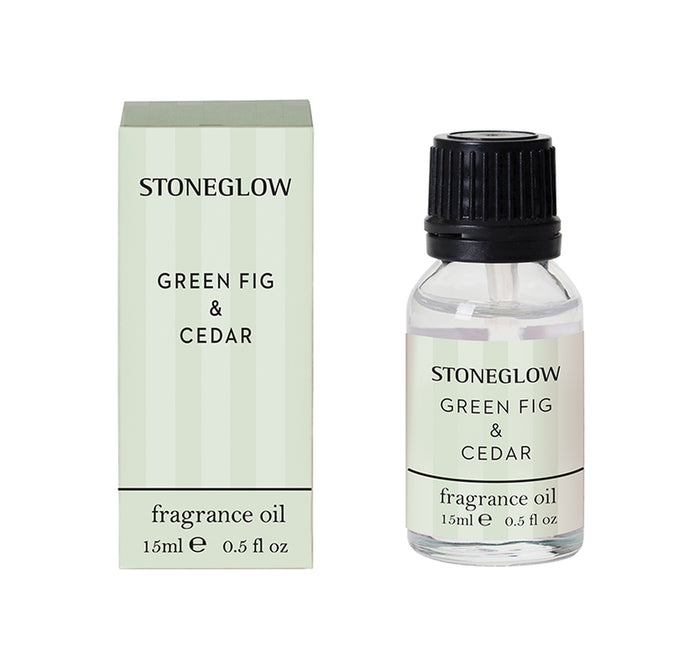 Modern Classic - Green Fig & Cedar Fragrance Oil 15ml - Stoneglow