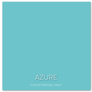 Azure Fusion Mineral Paint UK availalbe from Vintage Attic Sevenoaks approved online retailer