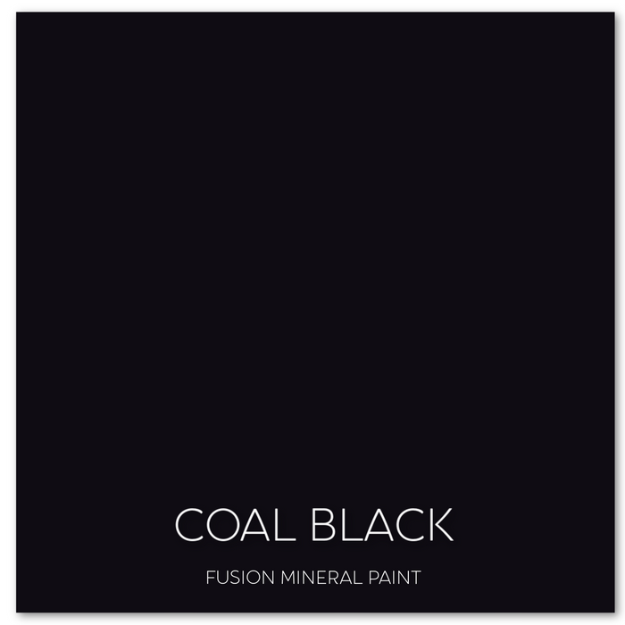 Fusion™ Mineral Paint - Coal Black - Blacks & Greys - Classic Collection