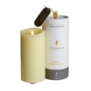 Luminara - Fragranced Diffusing Candle with Remote