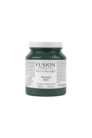 Fusion™ Mineral Paint - Pressed Fern - Blues & Greens -