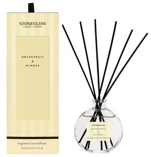 Modern Classic - Grapefruit & Mimosa Reed Diffuser - Stoneglow