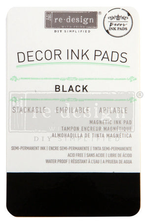 **NEW** Re-Design Prima Decor - Ink Pad - Black
