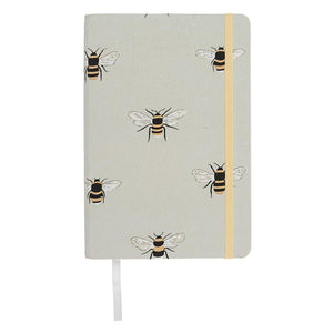 Sophie Allport - Fabric Notebook - A5 - Bees