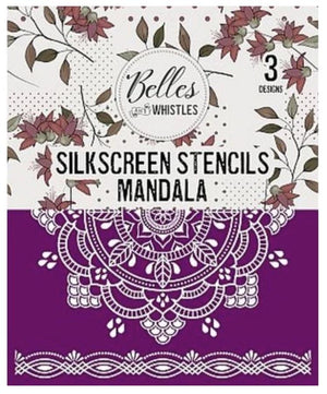 Belle & Whistles by Dixie Belle Paint - Silkscreen Stencils - mandala available from official online retailer and approved UK Stockist
