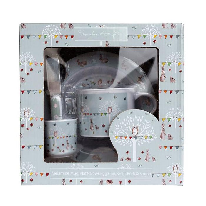 Sophie Allport - Childrens Melamine Set - Woodland Party