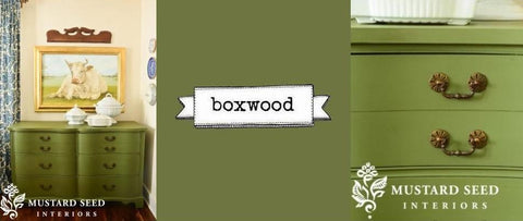 Miss Mustard Seeds Milk Paint - Boxwood