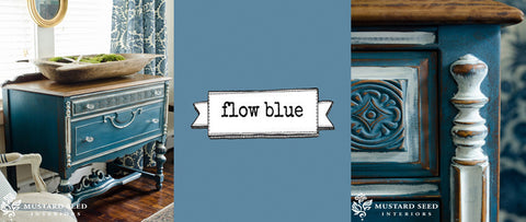 Miss Mustard Seeds Milk Paint - Flow Blue