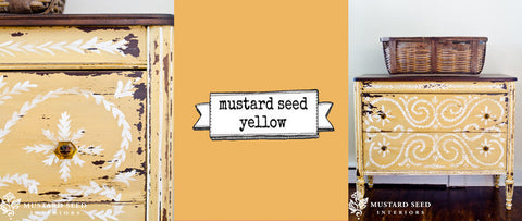 Miss Mustard Seeds Milk Paint - Mustard Seed Yellow