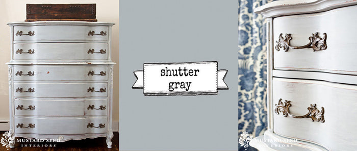 Miss Mustard Seeds Milk Paint - Shutter Grey