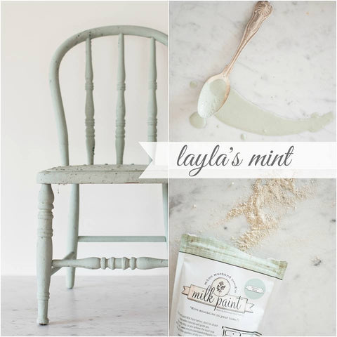 European Colours - Miss Mustard Seeds Milk Paint - Layla's Mint