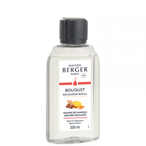 Maison Berger - Fragrance - Orange and Cinnamon - Scented Bouquet REFILL