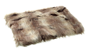 Parlane hyena faux fur throw available from official online retailer and approved uk stockist Vintage Attic Sevenoaks, Kent