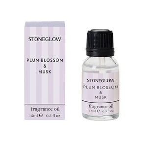 Modern Classic - Plum Blossom & Musk Fragrance Oil 15ml - Stoneglow