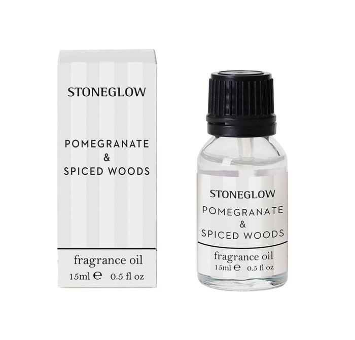 Modern Classic - Pomegranate & Spiced Woods Fragrance Oil 15ml - Stoneglow