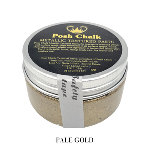 Posh chalk Paints Textured Paste Vintage Gold Buy Online Uk Stockist