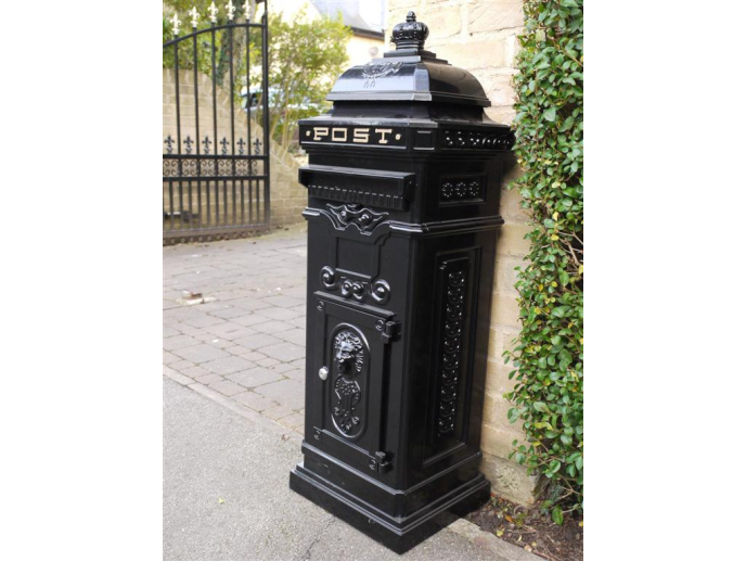 Post Box / Mail Box Black