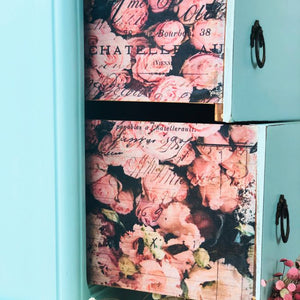 Re-design with prima DÉCOUPAGE DÉCOR TISSUE PAPER – FLOWER MARKET – 2 SHEETS (19″ X 30″) available from approve online retailer and official UK stockist