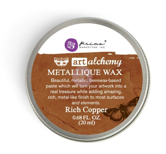 Rich Copper | Art Alchemy Metallique Wax | 20ml