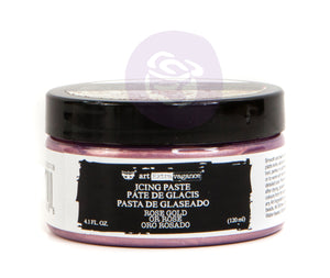 Rose gold icing paste Prima Re-Design Vintage Attic Sevenoaks