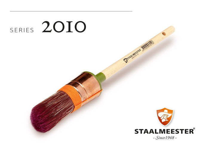 STAALMEESTER 2010 ROUND TOPPED SASH BRUSH size 20