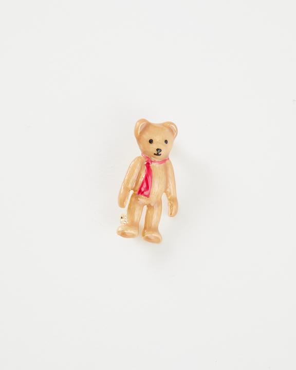 Fable - Jewellery - Enamelled Teddy Bear - Brooch