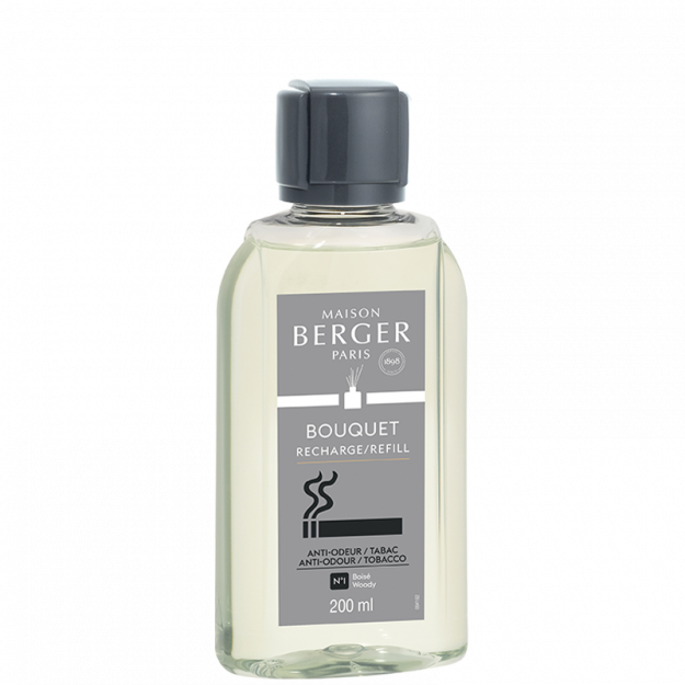 Maison Berger - Fragrance - Anti-Odor Tobacco - Scented Bouquet REFILL