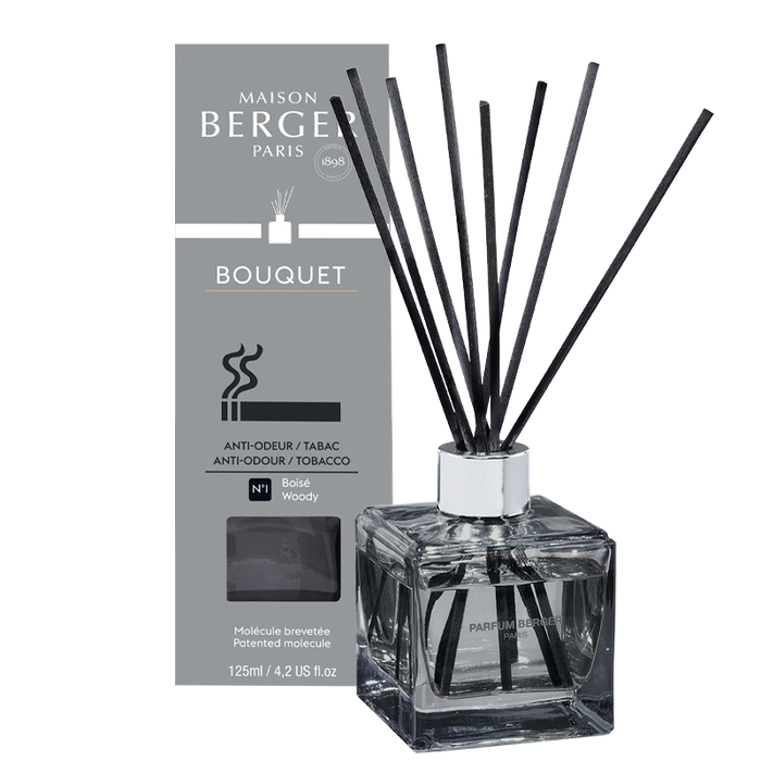 Maison Berger - Anti-Odor Tobacco - Grey - Scented Bouquet