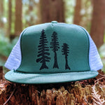 Tall Trees Trucker Hat - Contour Creative