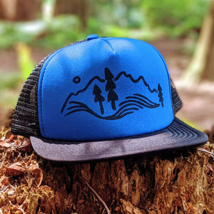 Drift Trucker Hat - Contour Creative