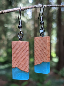 Wood & Resin Earrings #4504 - Contour Creative