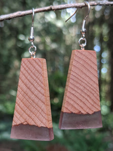Wood & Resin Earrings #7802 - Contour Creative